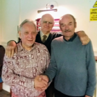 Derek Peachey, Roger Smith and Keith Banks